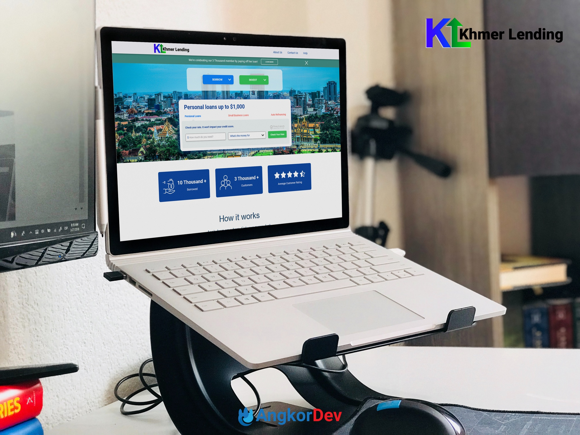 Khmer Lending Web Application Development