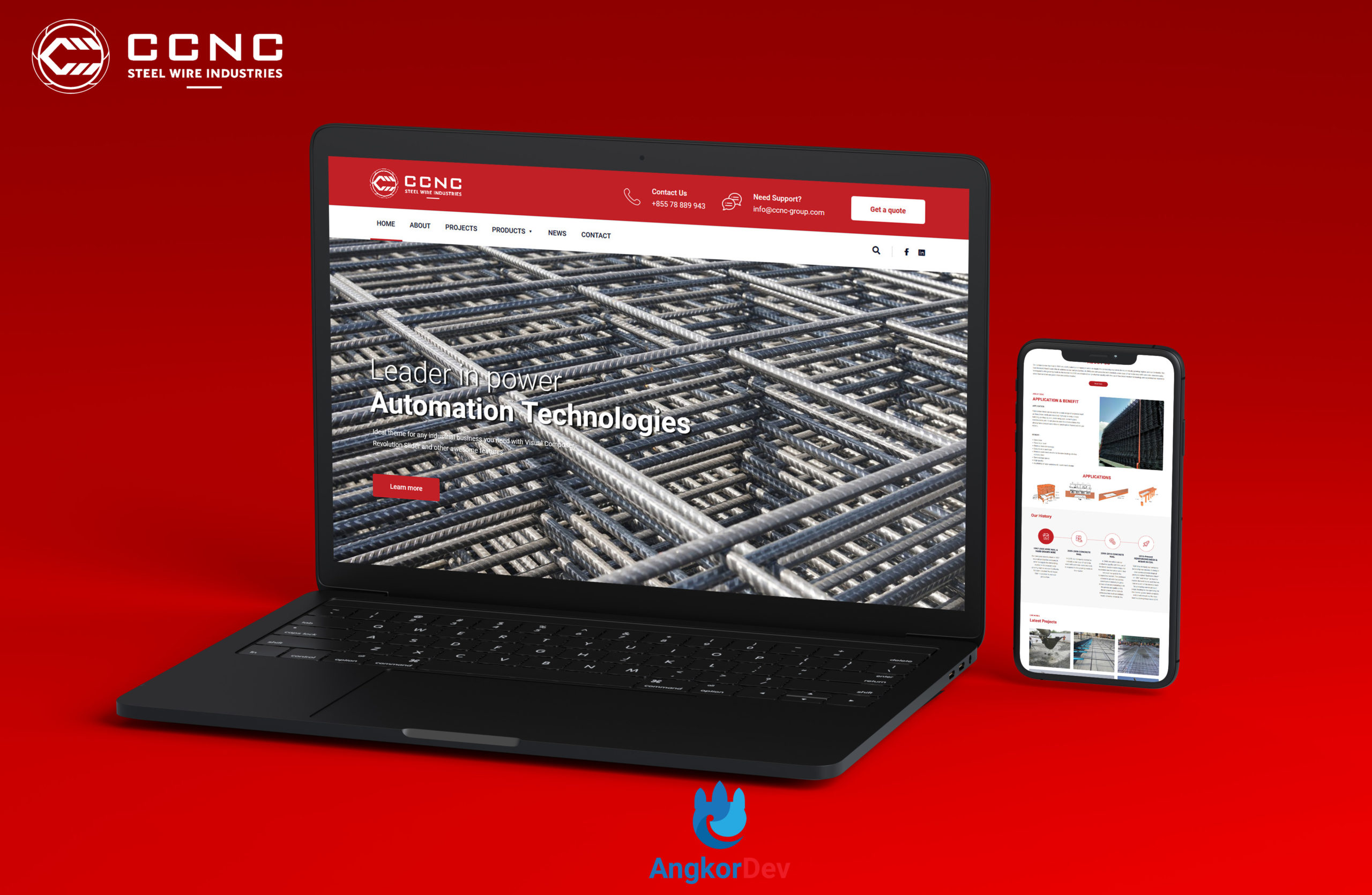 CNCC Website Design