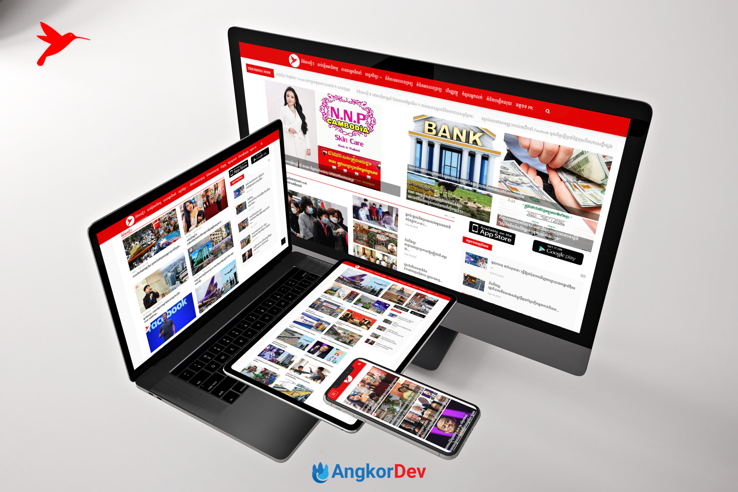 Business Cambodia Website Design